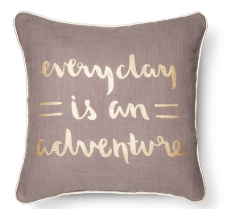 Who doesn't want a pillow that give you solid advice